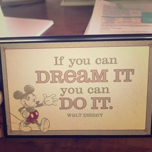 Disney home/office decor!